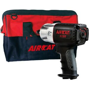 Aircat 1150 Bag Killer Torque 1 2 Composite Impact Wrench W Tool Tote Bag