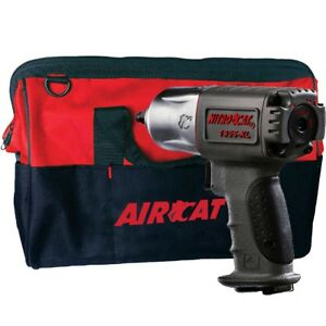 Aircat 1355 xlbag Nitrocat 3 8 Impact Wrench Twin Hammer W tool Tote Bag