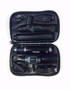 Welch Allyn Lithium Macroview Otoscope 23820 Ophthalmoscope 11720
