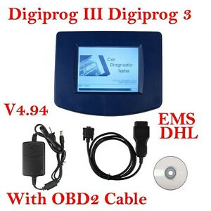 Cheap Main Unit Of Digiprog Iii V4 94 With Obd2 Cable Oodmeter Programmer Tool