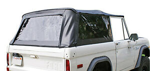 Rampage Products Tops Rampage Products Soft Top And Frame Bronco 1966 1977 F