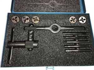 Greenfield Nsn 5180 00 357 7510 Small Tap Die Us Screw Threading Set