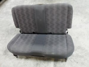 2003 2006 Jeep Wrangler Rear Seat Sport Rubicon Factory Original 03 04 05 06