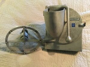 Genuine Hobart Pelican Head With Slicer Blade Extra Wheel Stand Mixer Attachment