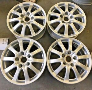 Oem Porsche Cayenne Set Of Four 17 Wheel Rims 2004 2005 2006 2008 67281 2 bp