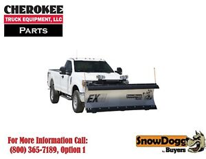 Snowdogg Buyers Products Ex90ii Snow Plow 108 Blade Width