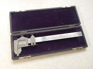 Brown Sharpe No 570 7 Caliper With Box