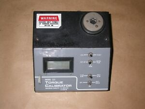 Gse Torque Calibrator Model 221 Calibration Tester