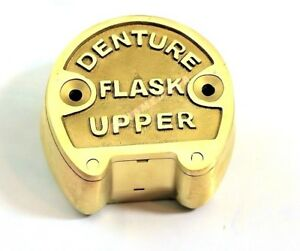 1 Premium Original Brass Dental Denture Upper Flask New Lab Professional