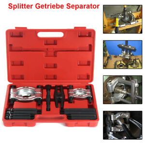 12pcs Bearing Splitter Gear Puller Fly Wheel Separator Set Tool Kit
