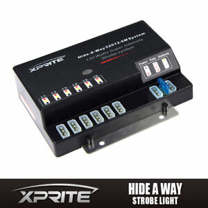 Xprite Hide A Way 6 Socket Led Strobe Warning Light Replacement Control Box