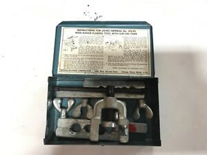 Imperial Eastman 45 Degree Flaring Tool Kit 38766 38767
