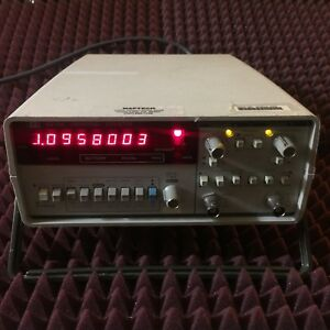Hewlett Packard Hp 5315a Universal Counter 2 Input Channel Frequency Counter