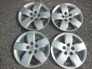 Oem Nissan Altima Hubcaps Wheel Covers 2007 2008 16 Set Of 4 Caps 53076 1