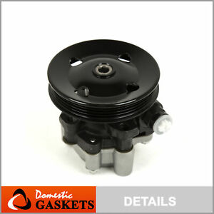 New Power Steering Pump With Pulley Fit 04 06 Toyota Sienna 3 3l Dohc 3mzfe