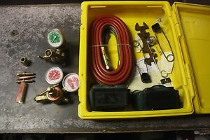 Esab Oxweld purox Gt 350 Deluex Welding And Cutting Outfit Made In U s a Part