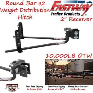 94 00 1033 Fastway Trailer Steel E2 Weight Distribution Hitch With 10 000 Lb Gtw