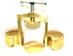 Premium Dental Laboratory Lab Spring Press Compress W two Brass Denture Flask
