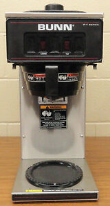 Bunn Vp17 2 Ss Commercial Pourover Coffee Brewer Maker Contact 4 Shipping
