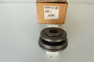 49217 Groove Roll 2 6 Ridgid Roll Groover