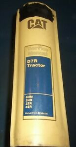 Cat Caterpillar D7r Crawler Tractor Dozer Service Shop Repair Book Manual