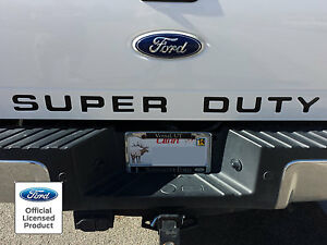2008 2016 Ford Super Duty Tailgate Letter Inserts Vinyl Stickers Decals F250 450