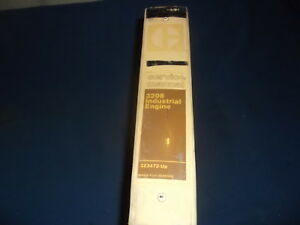 Cat Caterpillar 3208 Industrial Engine Service Shop Repair Manual Book 3z3472 up