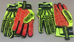 2 Pair Rig Lizard 2021 Hex Armor Safety Gloves Protective Gear Size 7 small