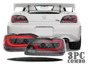 Combo Depo Led Jdm Sequential Signal Tail Light smoke 3rd Brake For Honda S2000