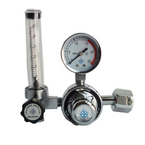 G5 8 Argon Regulator Ar Reduced Pressure Gauge Gas Flow Meter For Tig Welding