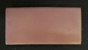 Vintage California Art Tile Co Pink Subway Tile