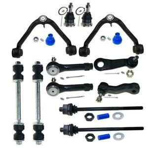 New 12pc Complete Front Suspension Kit For Chevy Gmc 1500 Trucks 6 lug 4x4 4wd