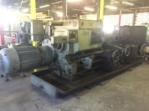 Warner Swasey M3550 Model 4a Saddle Type Turret Lathe 24 Chuck 9 Bore