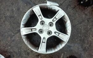 Wheel 15x6 Alloy 5 Notched Spokes Fits 02 03 Mazda Protege 378303