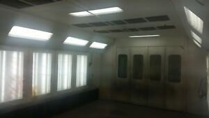 Spray Booth Drying Room
