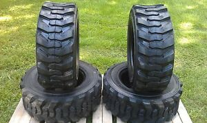 4 New 12 16 5 Skid Steer Tires 12 Ply Rating 12x16 5 for New Holland Loader