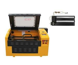 Upgraded Version Co2 50w Laser Engrave Machine Usb Port With Rotary Axis