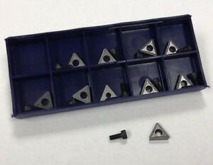 New 10 Carbide Inserts On car Brake Lathe Bits For Pro Cut 50 742