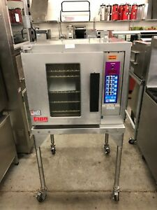 Lang Ehs c Electric Half Size Convection Oven W computer Controls Refurb