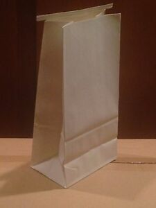 Dental Delivery Bags Paper Heavy Duty Tin Tie Closure 500 Pcs