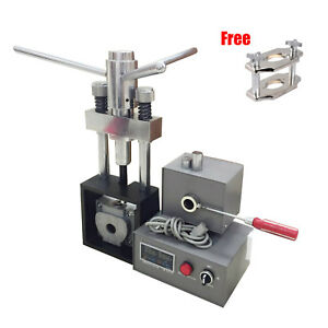 Dental Lab Flexible Denture Injection Partial Machine Heater Reline Jig Compress