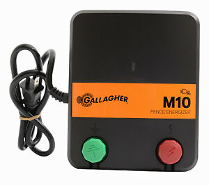 Electric Fence Charger M10 0 1 Joules 110v Gallagher G331424