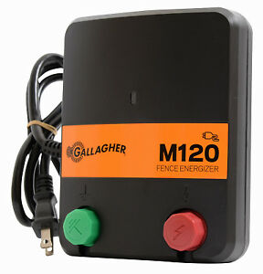 Electric Fence Charger M120 1 2 Stored Joules 110v Gallagher G330434