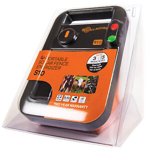 Solar Fence Charger S10 0 1 Joules Gallagher G341404