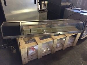 Sushi Refrigerated Display Case 71 x11 Used