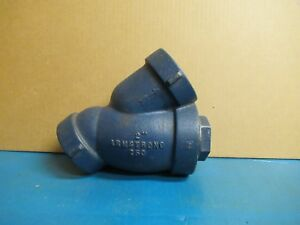 Armstrong 2 Npt Wye Y Strainer Cast Steel 250 Stainless Mesh New