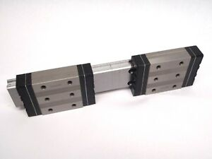 Thk Shw27cr Low Compact Block 258mm Rail 1 Rail 2 Block System