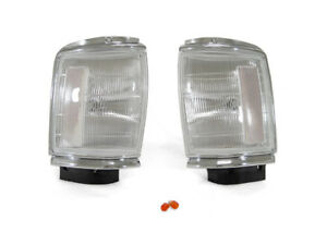 Depo Front Chrome Clear Corner Lights Fit 87 88 Toyota Pickup Pu Truck 2wd