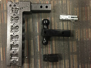 Gen Y Hitch 327 Adjustable 2 Class Iv Trailer Hitch W Ball Mount Pintle