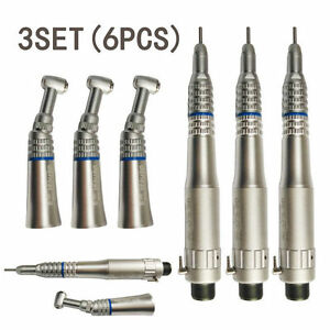 Dental Nsk Type 2 hole Slow Speed Handpiece Contra Angle Air Motor Straight Nose
